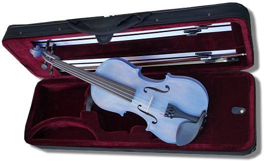 violon 1/8 bleu